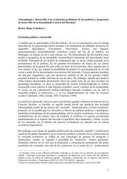 Políticas de desarrollo en la Cuenca del Bermejo