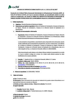 Resolución de la Entidad Pública Empresarial Administrador