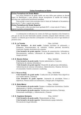 I. B. Carrús - IES La Asunción de Elche