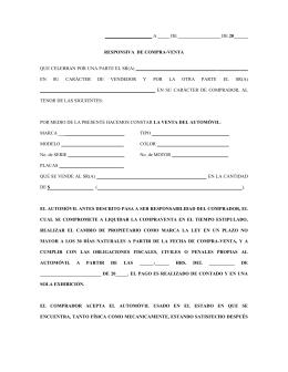 Contrato Compraventa Vehiculo | newhairstylesformen2014.com