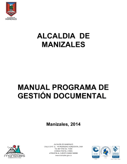 Manual Gestión Documental