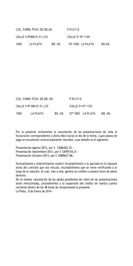 PROFE Carta Documento