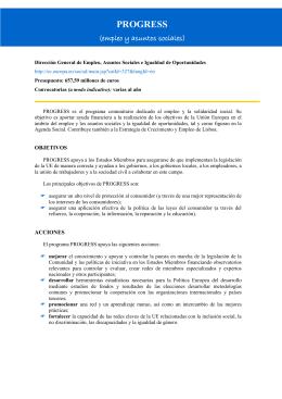 Dirección General de Empleo, Asuntos Sociales e Igualdad de
