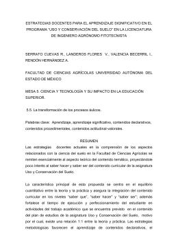 vi.resultados obtenidos - Secretaría Técnica de la Rectoría