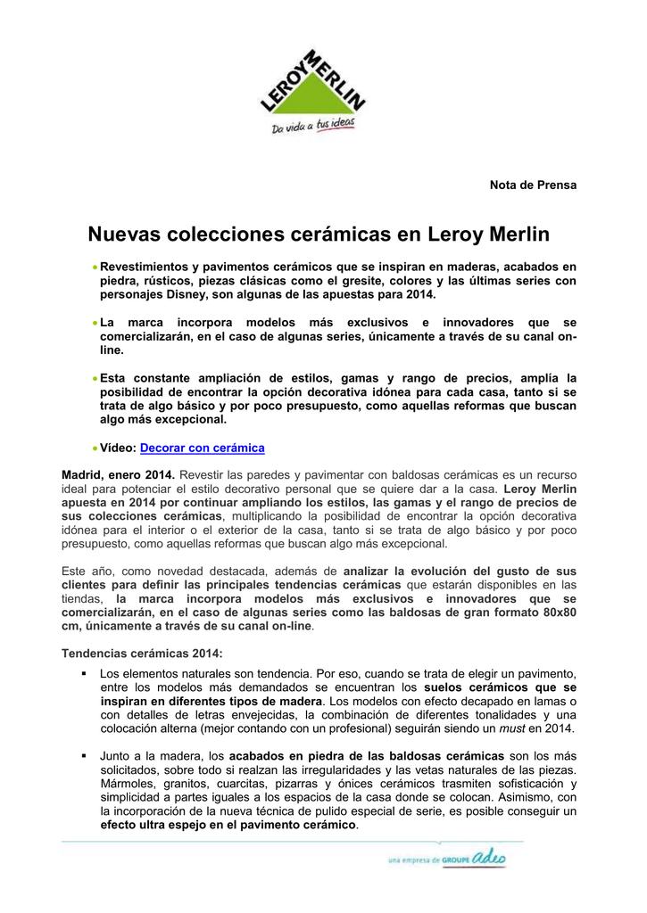 Leroy Merlin Suelos Ceramicos Best Piso Cer Mico Esmaltado Borda