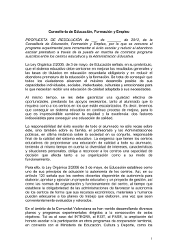 contratos-programa - Intersindical Valenciana