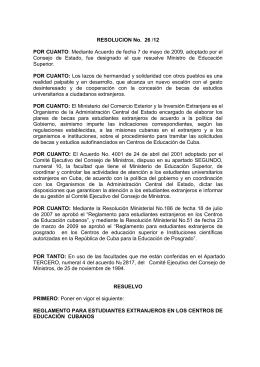 Reglamento - Instituto de Farmacia y Alimentos (IFAL)