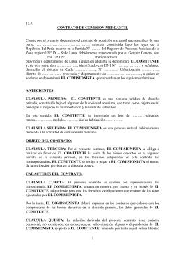Modelo De Contrato De Arrendamiento Financiero Doc Doc