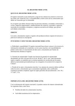 Documento 328223 - Registro mercantil de bienes muebles ...
