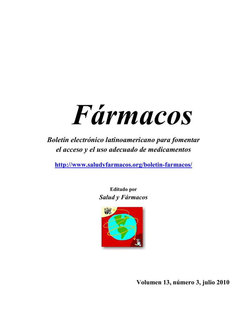 Salud y Fármacos