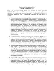 Comunicado de prensa FTC - IndustriALL Global Union