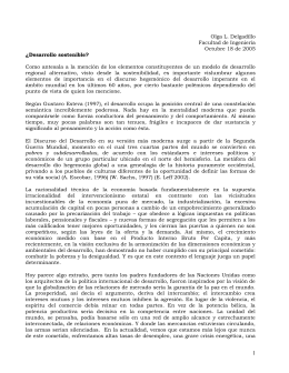 Documento Desarrollo Sostenible - Pontificia Universidad Javeriana