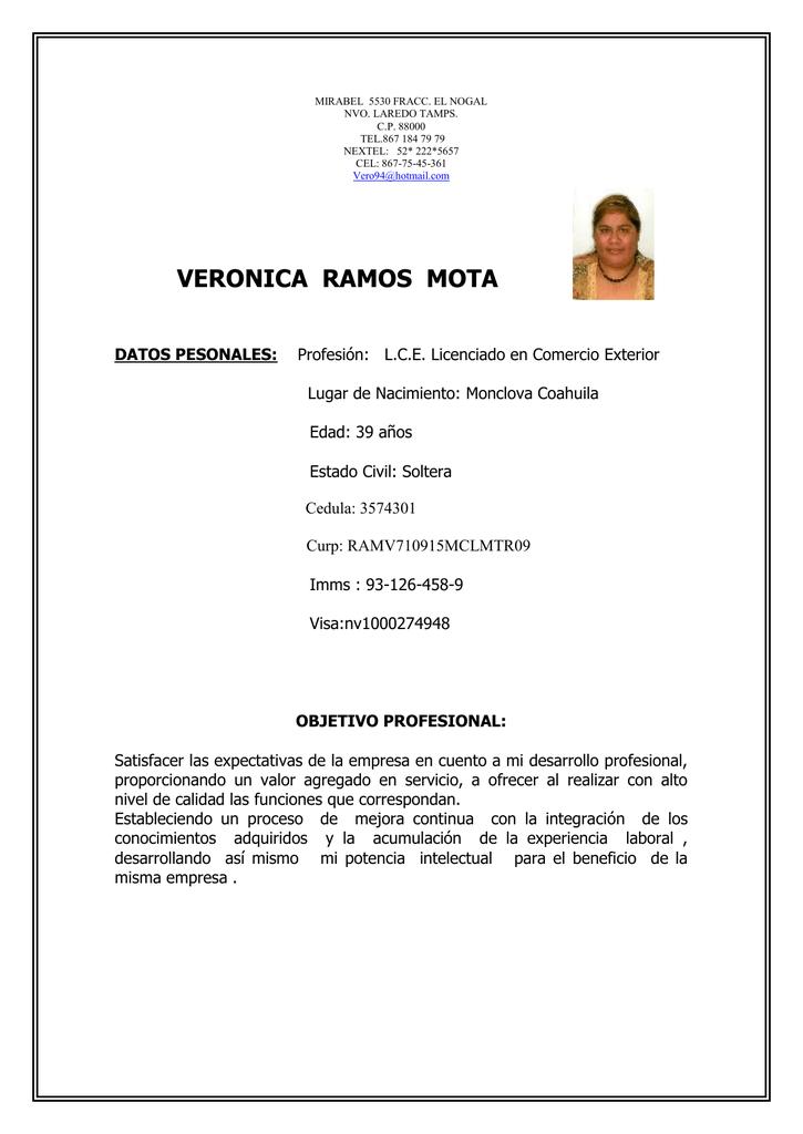 VERONICA RAMOS MOTA