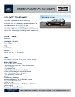 Discovery Sport SD4 SE