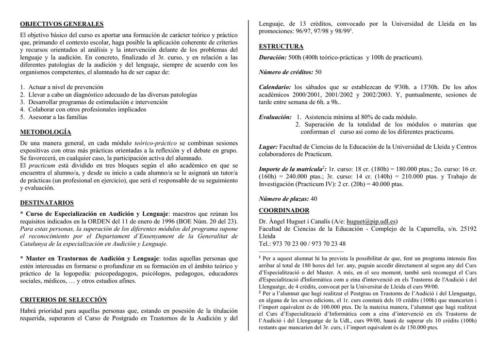 Dorable Créditos Universitarios Anatomía Y Fisiología Del Curso En ...