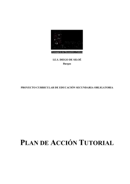 ACCIÓN TUTORIAL EN E.S.O.