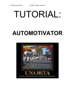 TUTORIAL AUTOMOTIVATOR