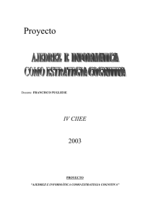 2003 FRANCISCO PUGLIESE PROYECTO