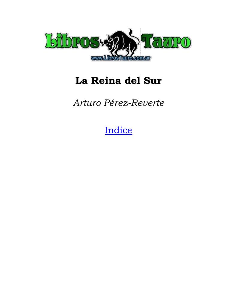 Sur Del La Reverte Arturo Reina Perez 08nOPkw