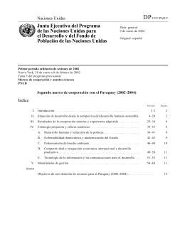 Segundo período ordinario de sesiones de 2001