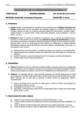 UNED FACULTAD DE CC. ECONÓMICAS Y EMPRESARIALES