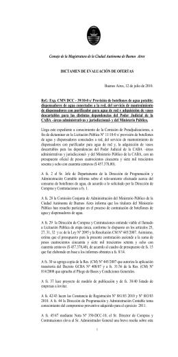 dict._botellones.-- - Consejo de la Magistratura de la Ciudad