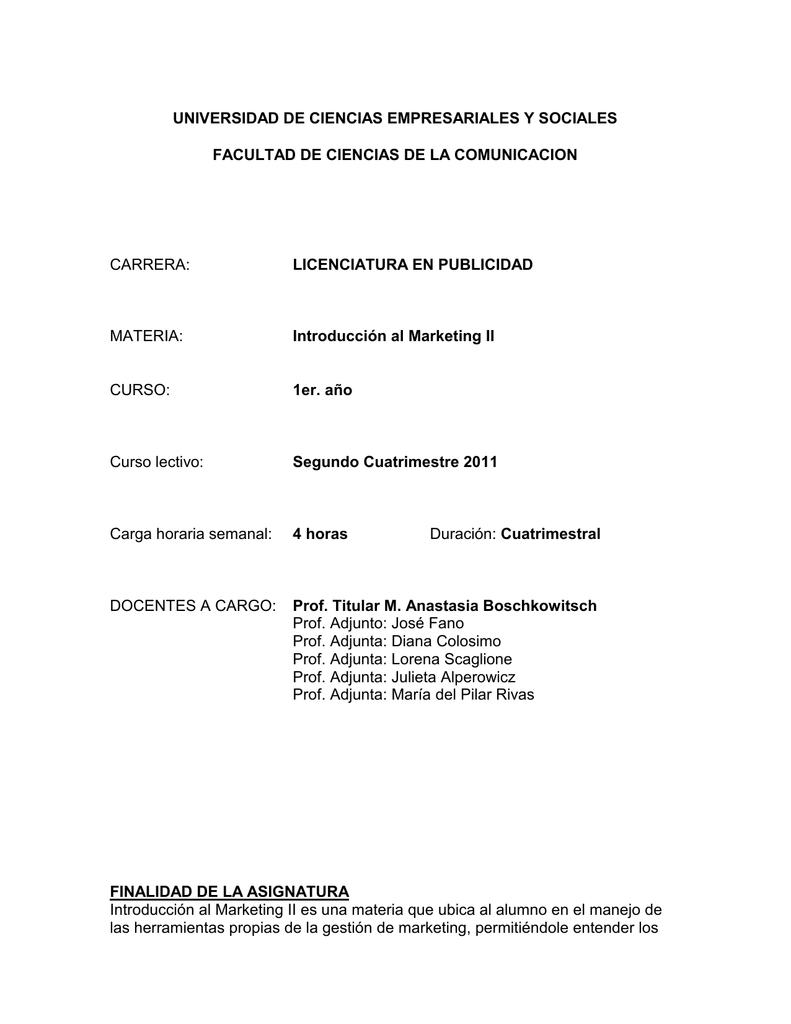 CARRERA: UNIVERSIDAD DE CIENCIAS EMPRESARIALES Y SOCIALES