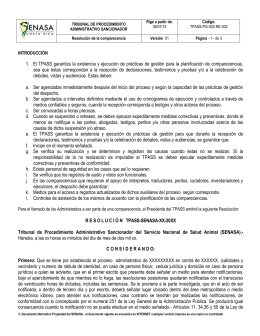 TPASS-PG-002-RE-002 V02 Resolucion de Comparecencia
