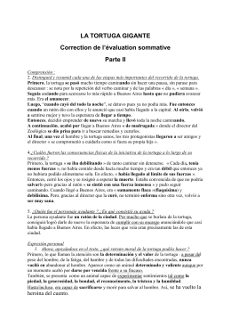 Correction de l`évaluation sommative (segunda y última parte)