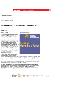 MARKETING DIRECTO. MK Media gana dos Aspid con campañas