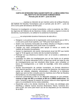 Documento - Colombia