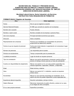Instructivo para Requisición de Formatos