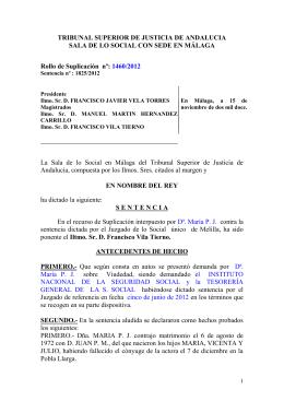 stsja 1825/2012 - Observatorio Jurídico