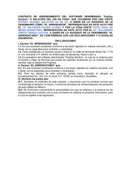 5 contrato de arrendamiento de inmueble pm for Contrato de arrendamiento de oficina