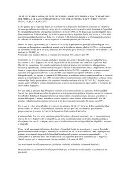 real decreto 2620/1986, de 24 de diciembre, sobre revalorizacion