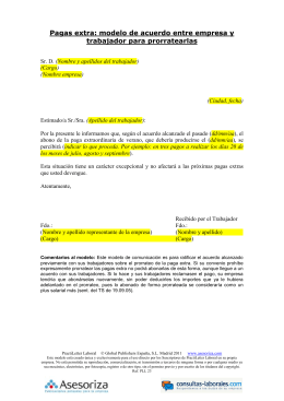 65 despido objetivo carta de despido for Acuerdo laboral modelo