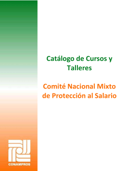 negociación colectiva - Comité Nacional Mixto de Protección al