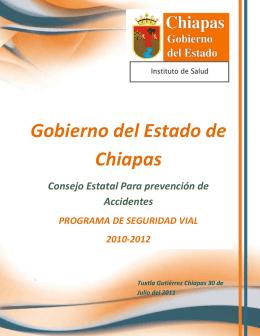 Programa Estatal de Seguridad Vial 2011-2012