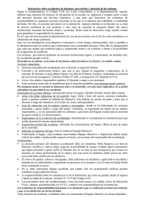 Instructivo sobre accidentes de alumnos, prevención y atención