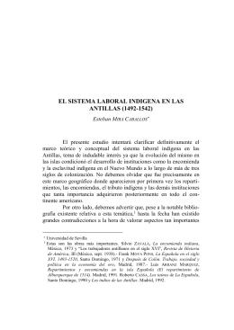 Encomienda Antillas M.Caballos - Literatura prehispánica y colonial