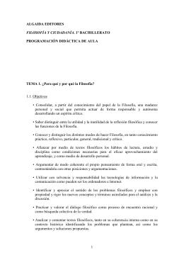 1.1. Objetivos ALGAIDA EDITORES