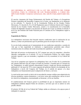QUE REFORMA EL ARTÍCULO 9 DE LA LEY DEL INSTITUTO DEL