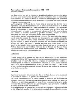 Reconquista y Defensa de Buenos Aires 1806 - 1807 por - No-IP
