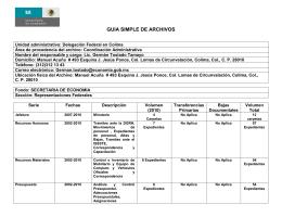 Unidad administrativa: Dirección General de Recursos Materiales y