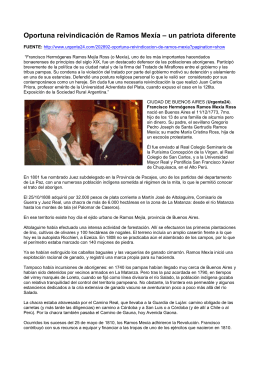 documento de Word AQUÍ - Francisco Ramos Mejía