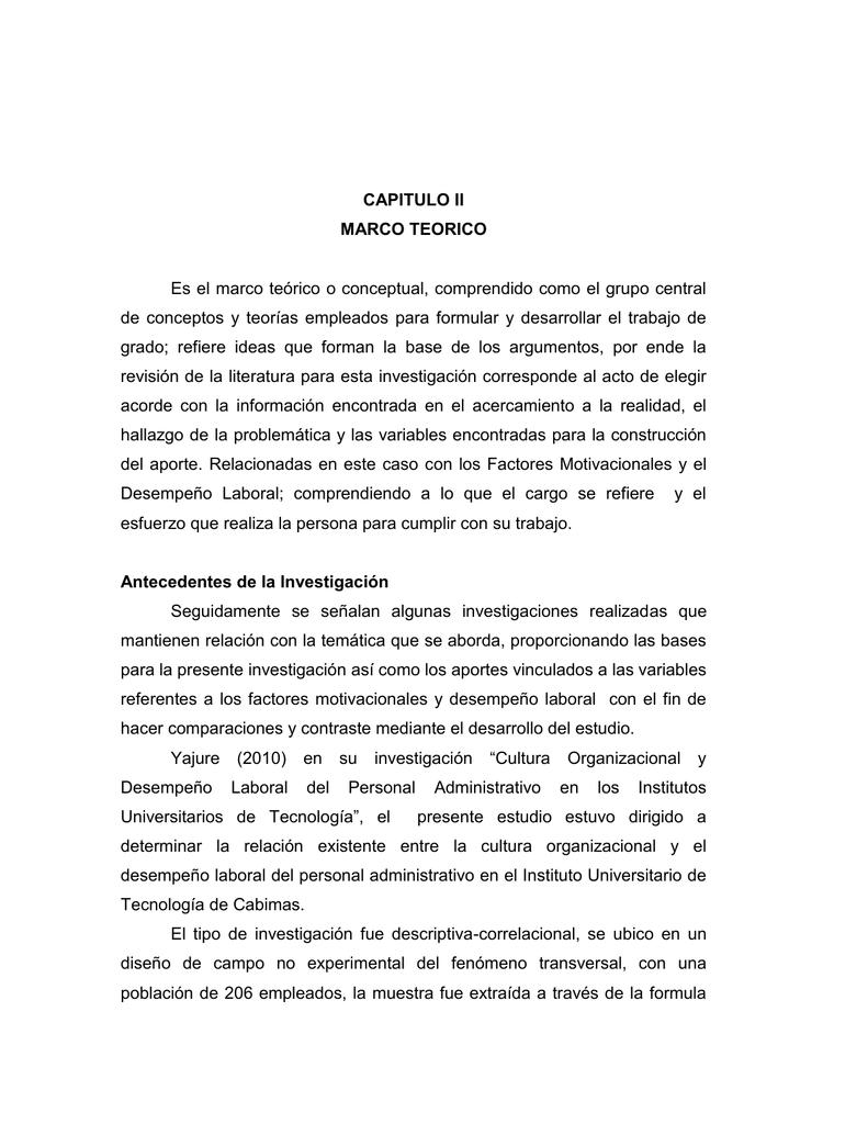 Capitulo Ii Seminario De Investigacion Ii
