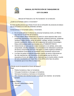 MANUAL DE PROTECCIÓN DE TABAQUISMO DE CETI COLOMOS
