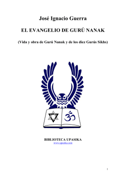 el evangelio de gurú nanak - The Conscious Living Foundation