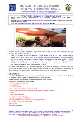 """PARASHAT DE LA SEMANA """" TOLEDOT"""" TOLEDO"""