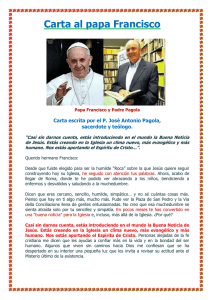 Carta al Papa Francisco
